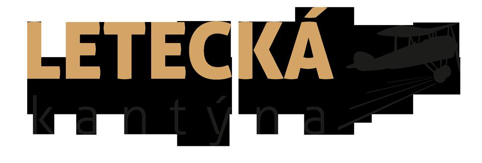 Letecká Kantýna logo s letadlem