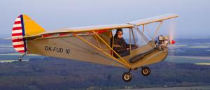 Aeronca C2: John letí na návštěvu k Jimovi