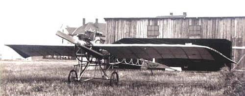 Původní letadlo Metodeje Vlacha