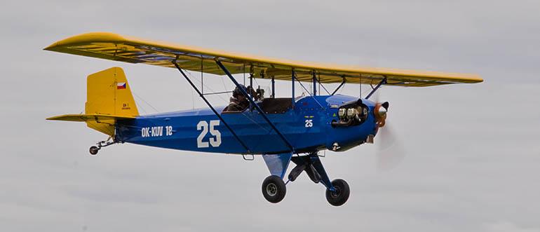 Pietenpol Air Camper: malý Američan