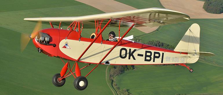 Přikryl-Blecha PB-6 Racek: letadlo, kterému osud nepřál