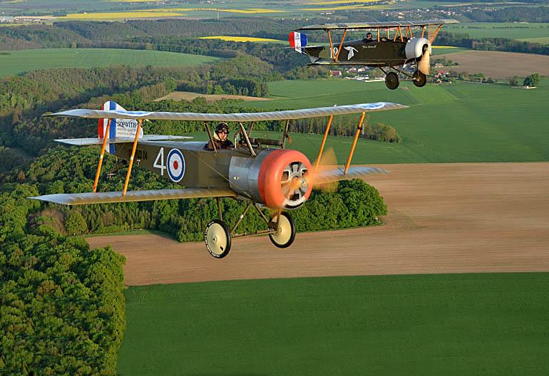 Letadla z muzea létají!