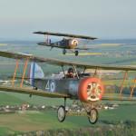 Sopwith Pup a Nieuport XII - napodobeniny