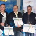 Modeláři - V. Snopek, P. Fencl, T. Andrlík, J. Sedláček, J. Klein, T. Ciniburk