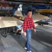 Letadla v leteckém muzeu v zimě nespí – letoun Grade