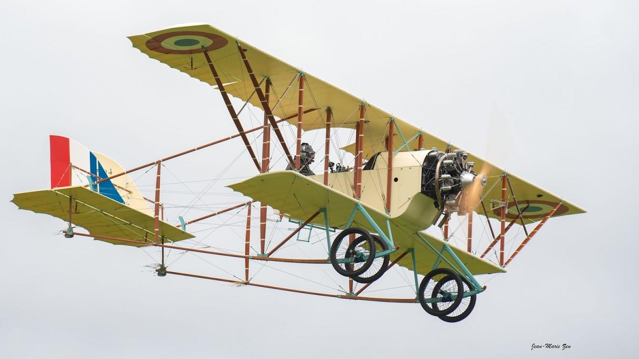Caudron G3: francouzský pozorovací letoun z roku 1913